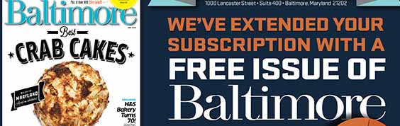 Baltimore grace issue Interest